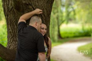 Frontier Park Engagement Photo