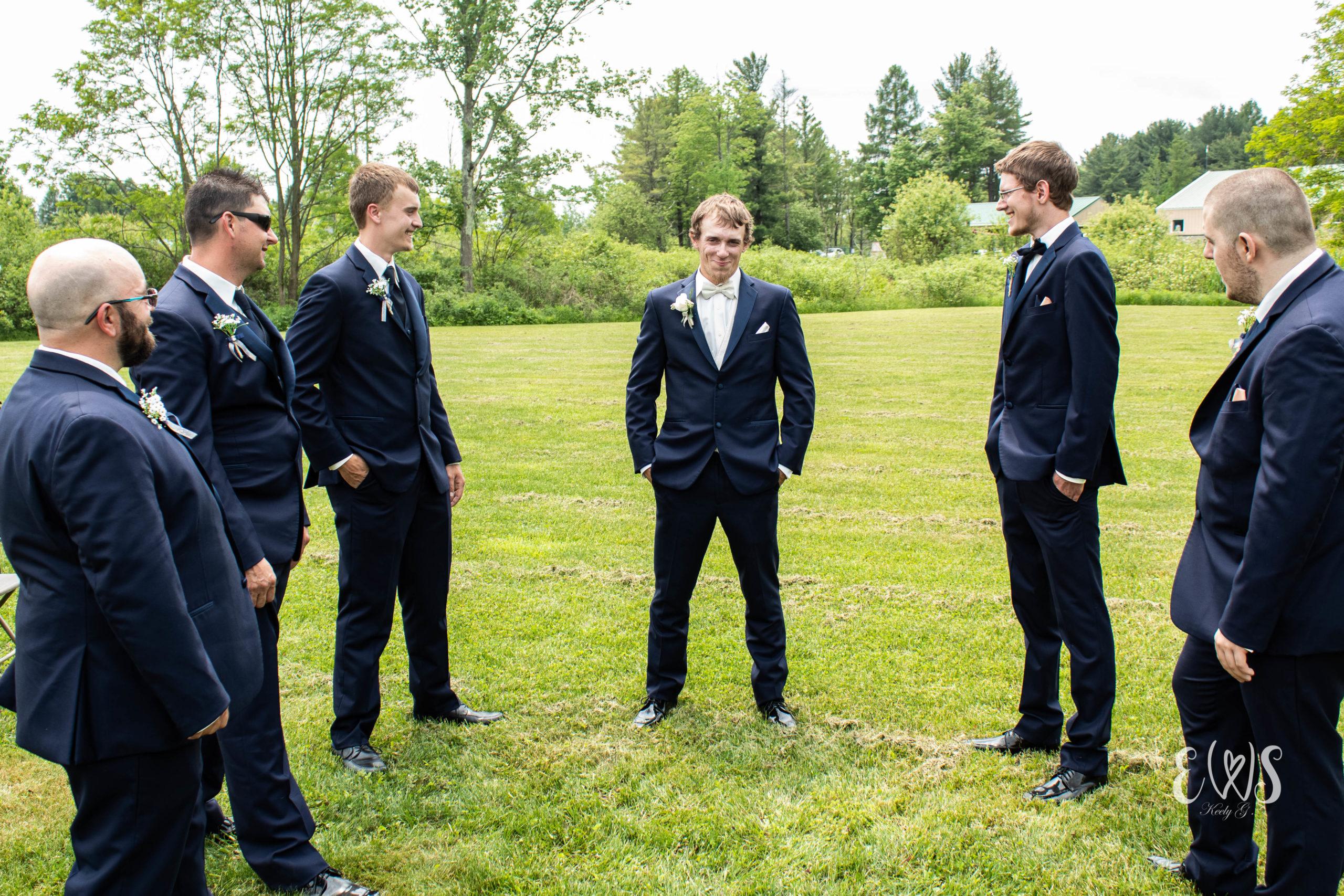 Summer Wedding Groomsmen