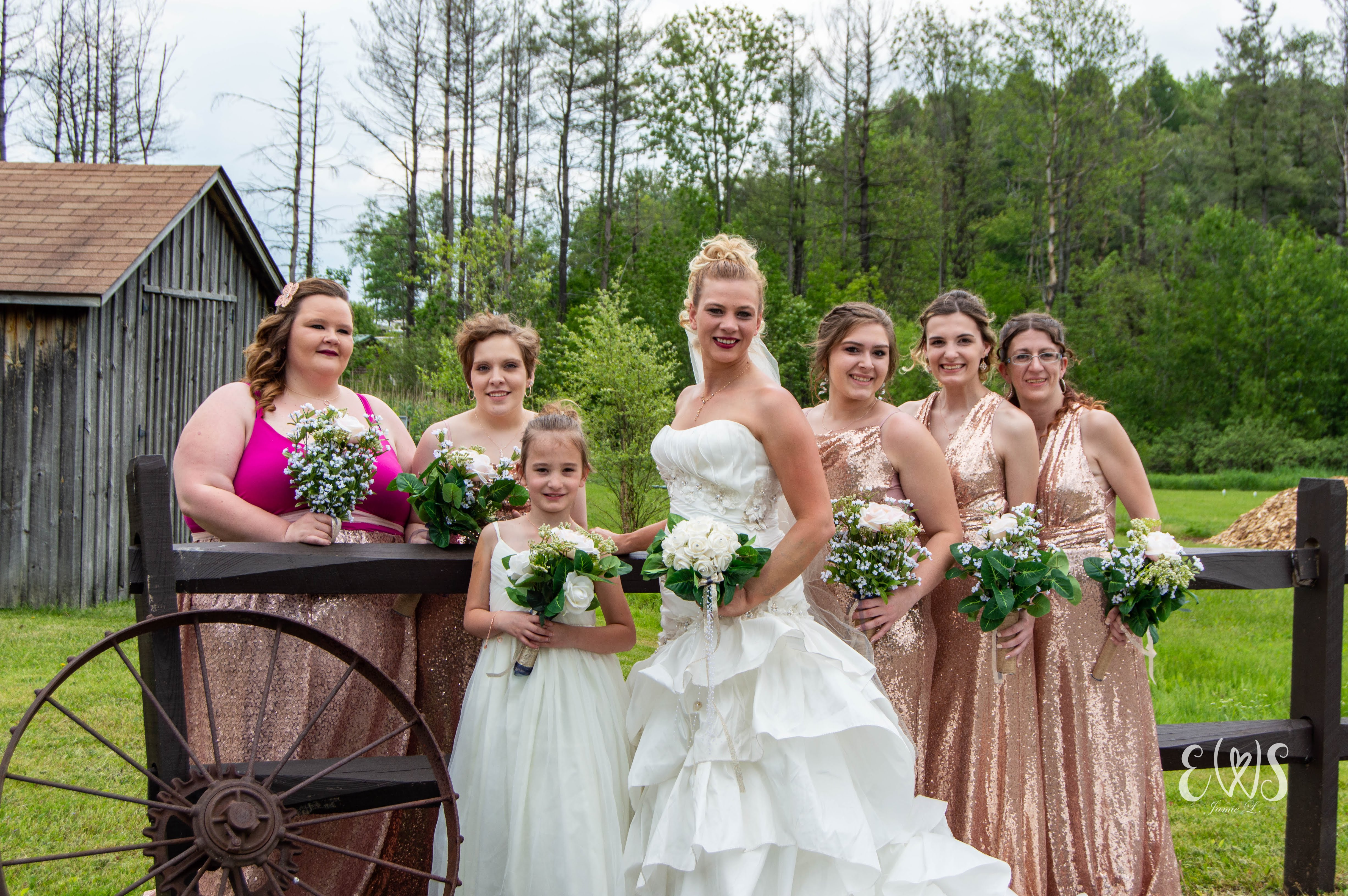 Summer Wedding Bridesmaids