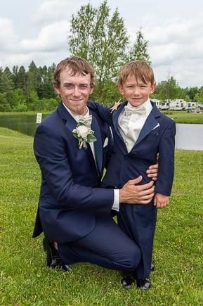 Sweet Summer Wedding Groom Erie Pa